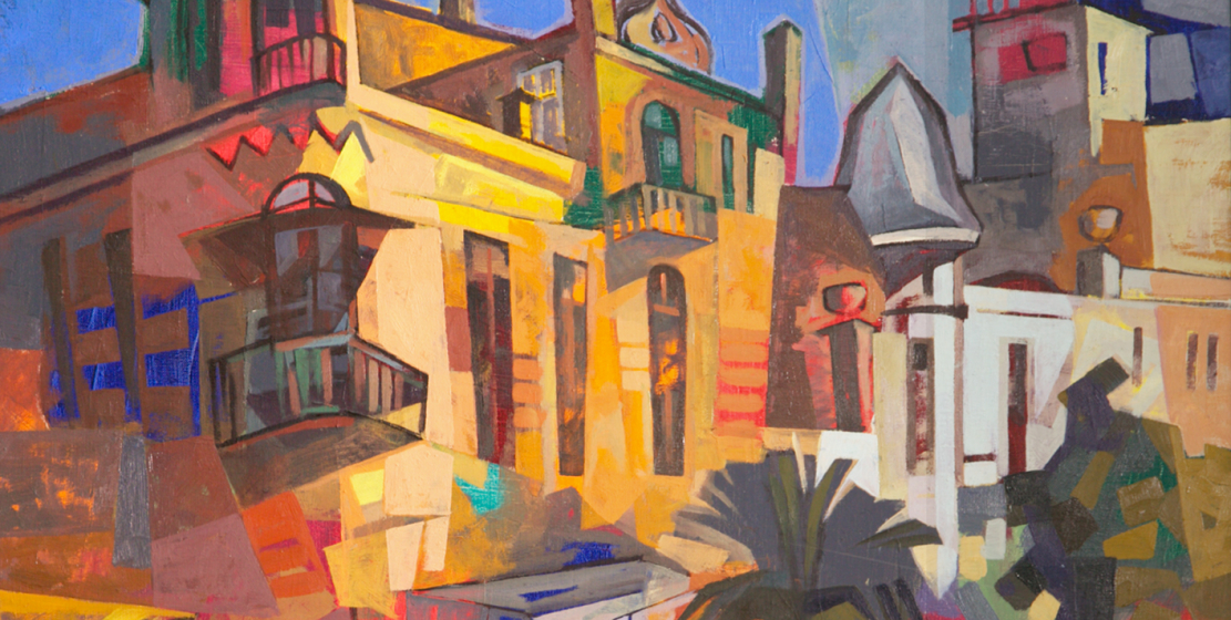 Sukhum, 2000s, oil on canvas