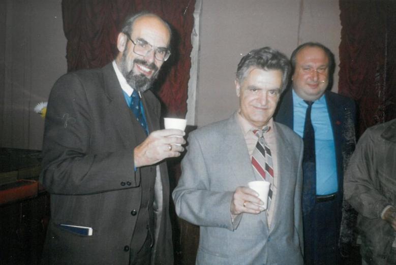 Yuriy Voronov, Fazil İskander ve Zurab Açba