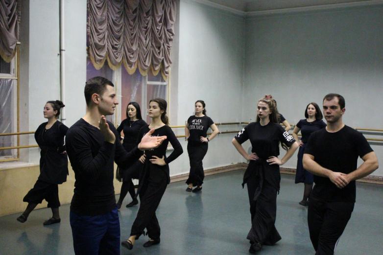 Репетиция ансамбля «Абаза»