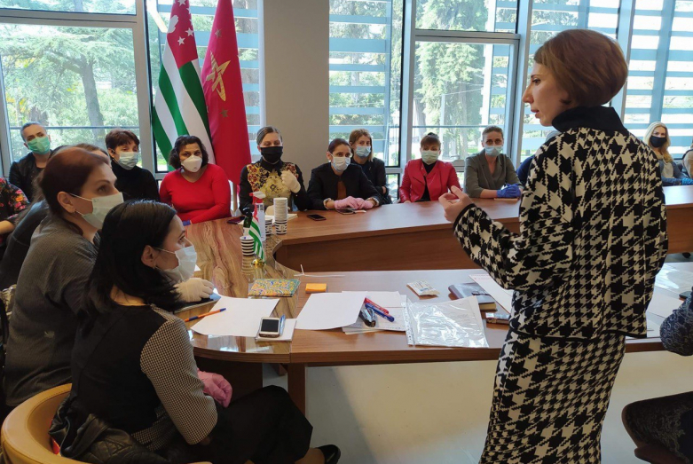 Training for laboratory assistants and nurses of regional medical institutions was held in Sukhum