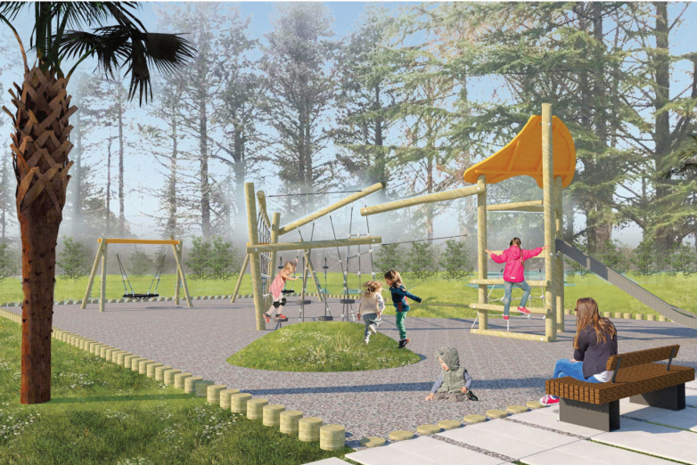 Local residents with the support of the WAC will restore the park in the village of Adzyubzha