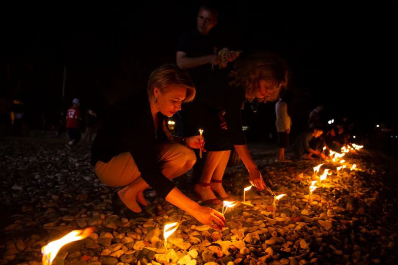 WAC honored the memory of the victims of the Caucasian war with the lighting of Aschamaka and the Nart bonfire