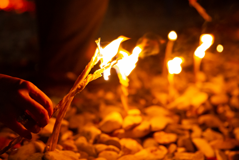 Commemorative candle Aschamaka and Nart bonfire: how the WAC honored the memory of the victims of the Caucasian war