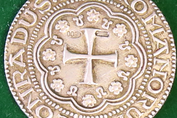 Genoese silver coin