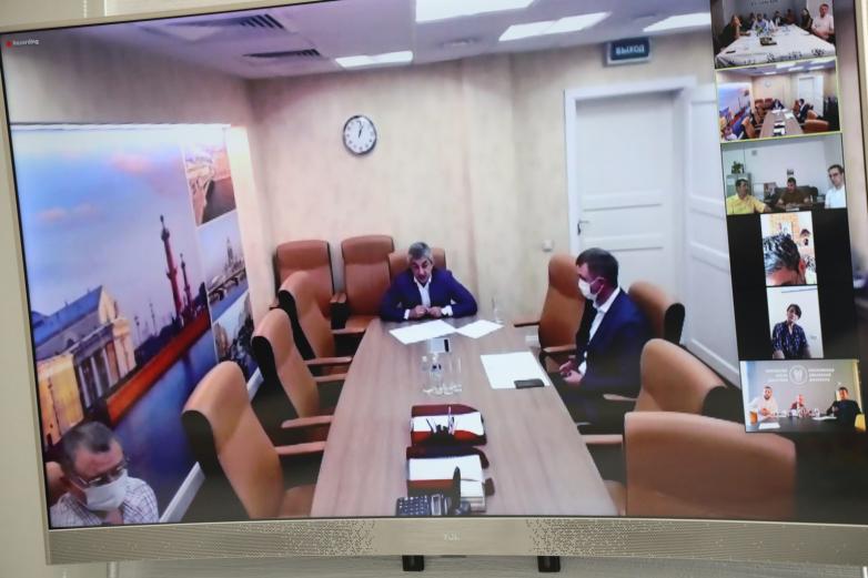 DAK, Yüksek Kurul Üyelerine, salgın sürecindeki çalışmalarını anlattı