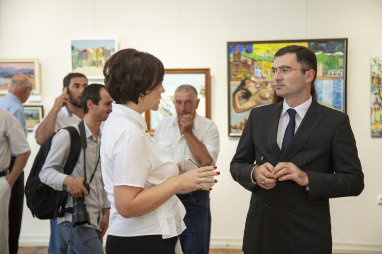 Выставка «Сухум. Праздник, который всегда с тобой» открылась в столице Абхазии