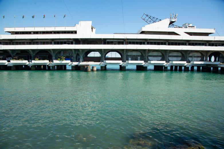 Sukhum seaport, 2020