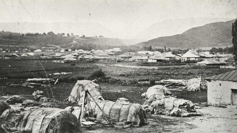 Сухум-Кале после разрушений русско-турецкой войны, 1877 год