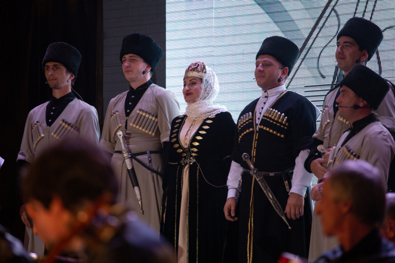 Charity concert of Otar Kuntsaria Orchestra was held in Sukhum