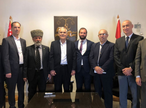 WAC representatives met with the Abkhaz-Abaza and Circassian Diasporas of Syria