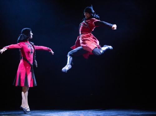Абхазский национальный танец: проект «Амазара» презентовал первое видео