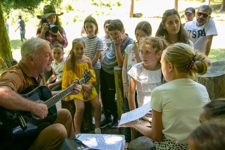 Экскурсия по Афону и в Анакопию для детей по проекту «Ащтра», организованному ВААК и «АМЧ»