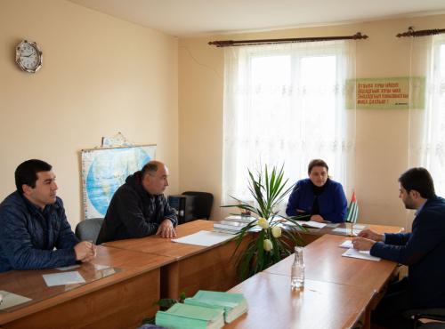 ВААК создал новое местное отделение в селе Джирхва Гудаутского района