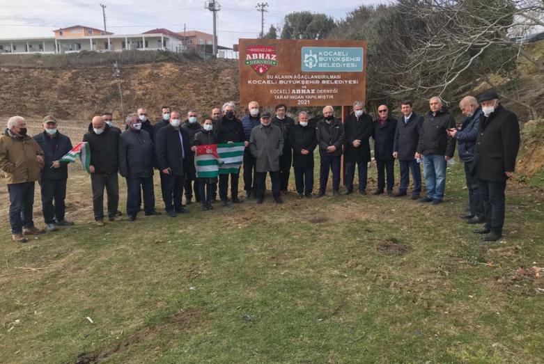غرس في تركيا بستان من شجرالزيتون ، وذلك تخليدا لذكرى ضحايا حرب القوقاز