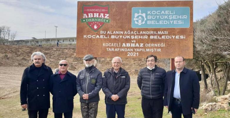 Türkiye'deki Kafkasya Savaşı mağdurlarının anısına zeytin fideleri dikildi