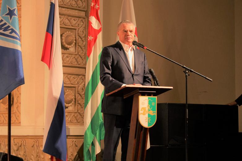 """Abhazya'da """"Zenit"""" futbol okulunun şubesi törenle açıldı"""