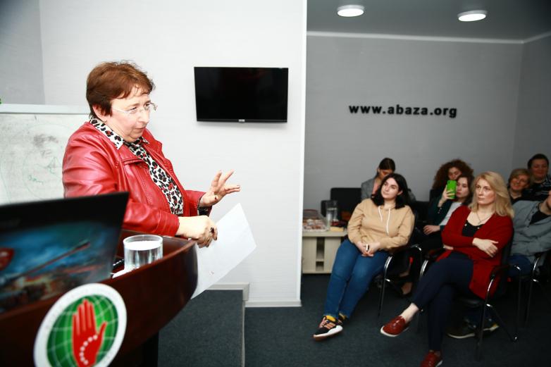 DAK Abhazların geleneksel etnik kültürünü ve etnik ekolojisini tartıştı