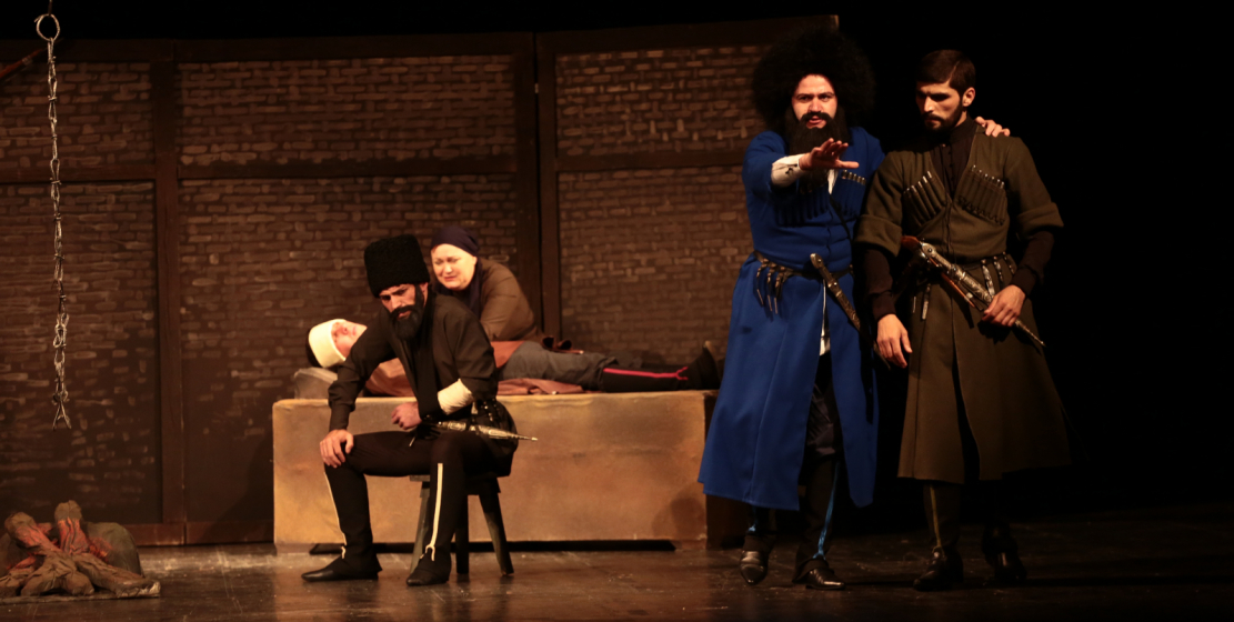Commemorative events on May 21 began at the Abkhazian Drama Theater. The youth theater presented a performance based on the book of the same name