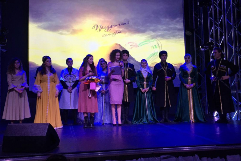 ВААК и молодежный центр «Охта» провели в Петербурге концерт ко Дню победы в ОВНА
