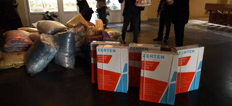 WAC gave gifts to veterans and helped the hospital on the Day of Liberation of Gagra