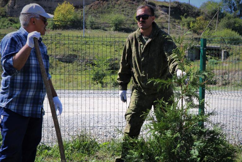 Экологическая акция в Красном Востоке «Посади свое родовое дерево»