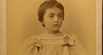 Фотография маленькой Мери Шервашидзе