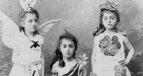Дочери Прокофия Шервашидзе - Елена, Мэри и Тамара