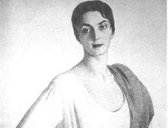 Портрет Мери Шервашидзе, Савелий Сорин