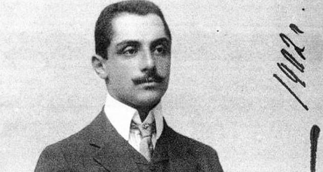 Георгий Николаевич Эристави, будущий супруг Мери Шервашидзе, 1902 год
