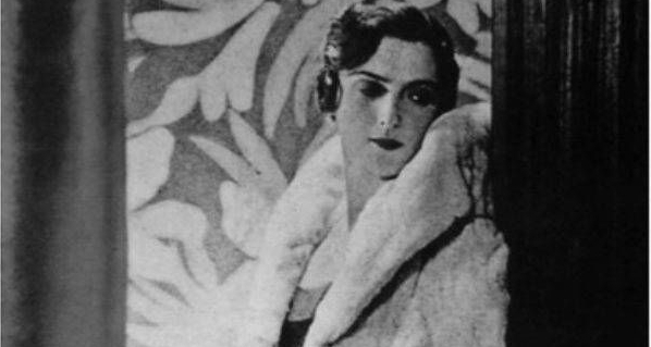 Манекенщица княгиня Мери Эристова-Шервашидзе, Париж, 1929 год