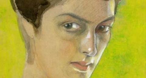 Портрет Мери Шервашидзе-Чачба, 1911 год