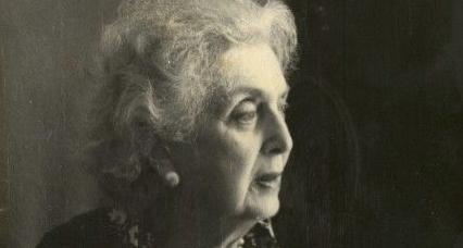 Княгиня Мери Эристова-Шервашидзе преклонном возрасте