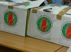 Gagra Rehabilitasyon Mmerkezi'ne, Türkiye'deki diasporamızdan gelen yardımlar ulaştırıldı