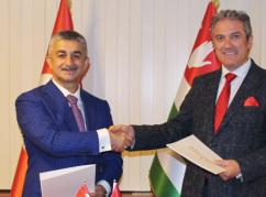 WAC and Abkhazfed discussed a joint work plan in Turkey