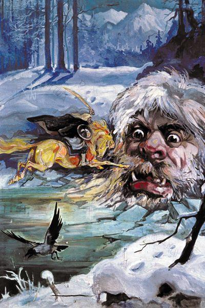 """Almesti"""" v čerkeskom folklóre: Zlá čarodejnica alebo Bigfoot"""