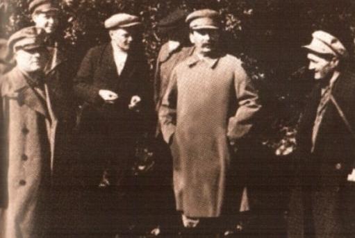 Nestor Lakoba ve Yosif Stalin
