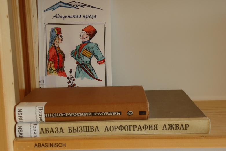 В 2011 году в библиотеке Дома переводчика «Лоорен» в Швейцарии появился уголок абазинского языка и литературы