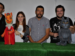 Rehearsal of the Abaza puppet theater «Amara»
