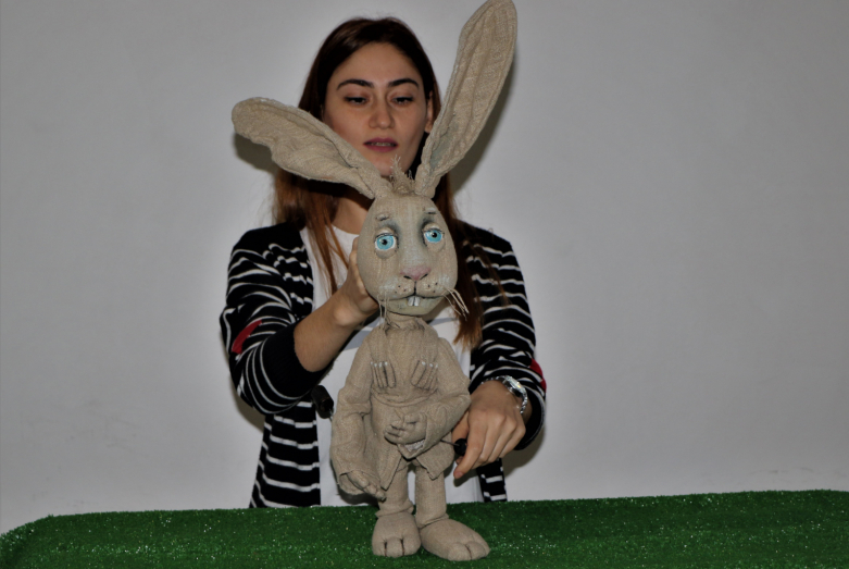 Репетиция Абазинского кукольного театра «Амара»