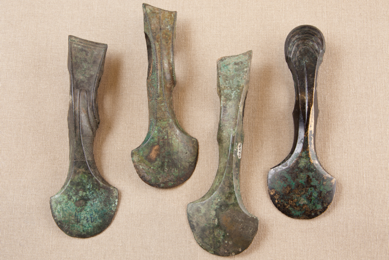 Bronze axes, late bronze