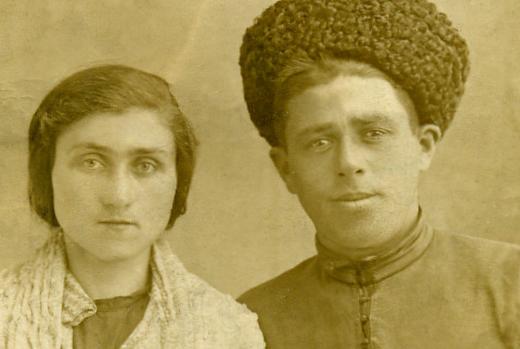 Зули Ерижева и Каплан Дзыба, 1930-е годы