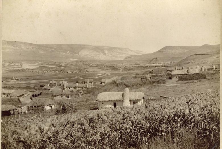 Абазинский Зеленчукско-Лоовский аул, 1890-е годы (ныне аул Инжич-Чукун в Карачаево-Черкесии)