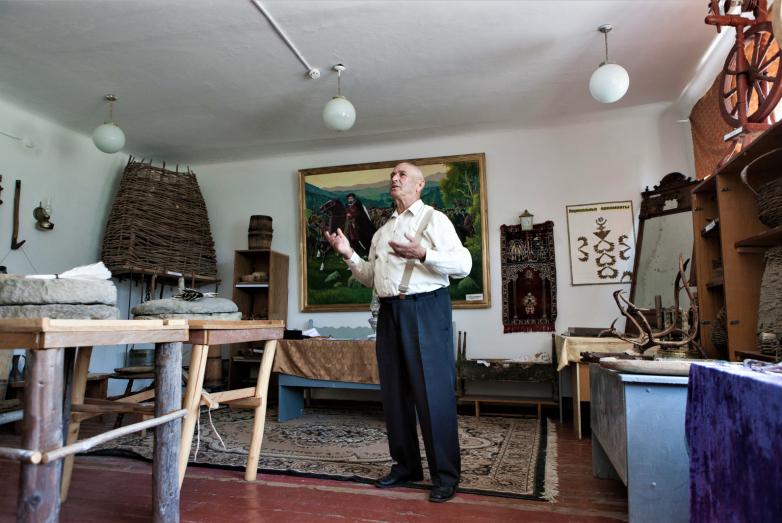Мухамед Туков в Эльбурганском этнографическом музее