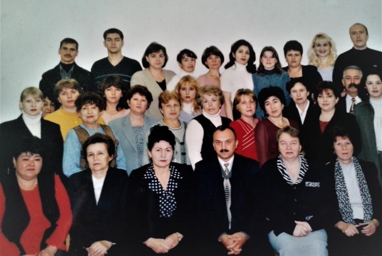 Роза Умаровна с родным коллективом