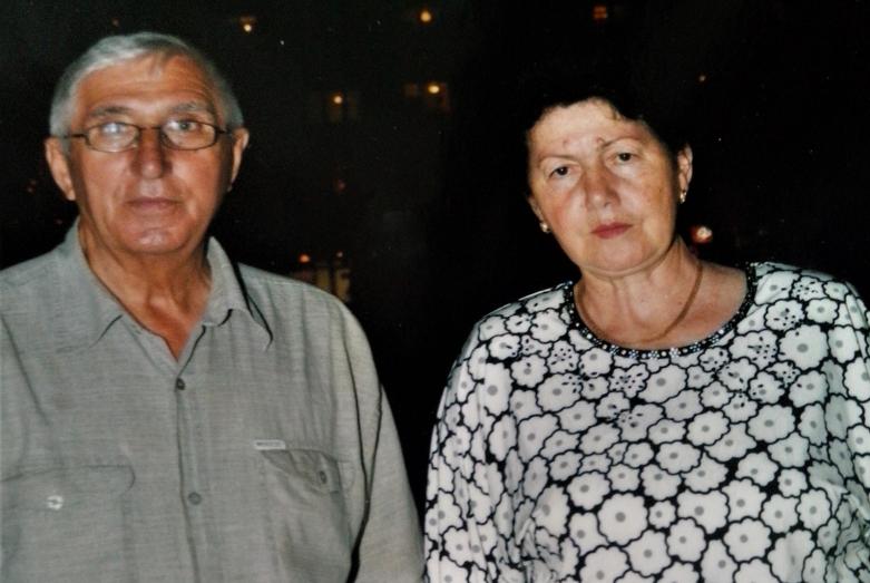 Роза с мужем Рамазаном Чикатуевым и внуком Умаром