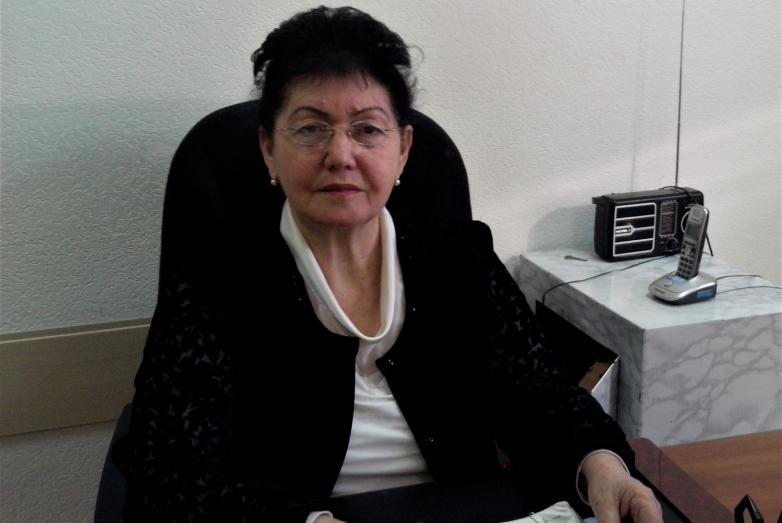 Руководитель Центра гигиены и эпидемиологии в Черкесске Роза Умаровна Чикатуева  Роза