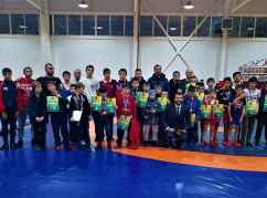 The Abaza Club freestyle wrestling competition