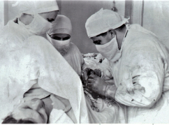 1954. First surgical operations in Kuva district