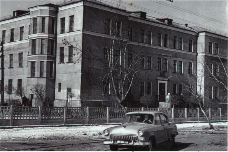 1959 год. Введен в строй корпус поликлиники в Черкесске