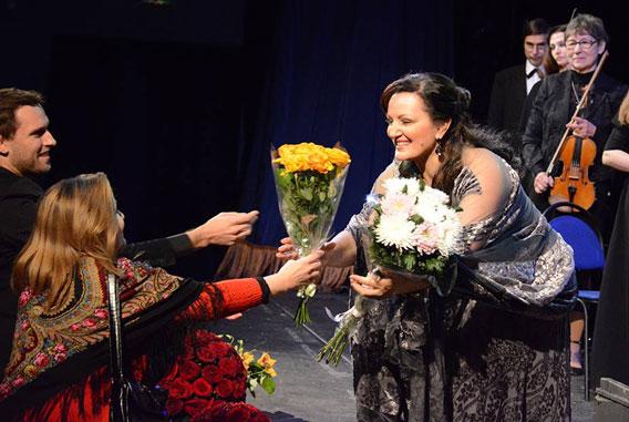 Алиса Гицба в «Геликон-опера»